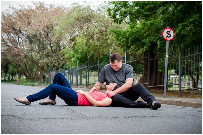 Engagment Photo Shoot in the City at 44 Stanely, Classic Engagement photographer