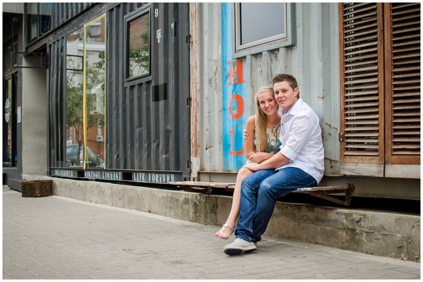 Esession ideas in maboneng johannesburg, urban themed engagement photo shoot