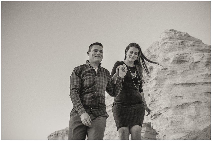 Mine dumps couple photo shoot