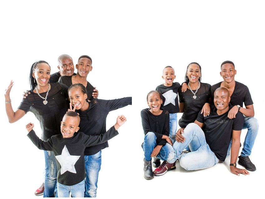 Family Studio photo shoot kempton park