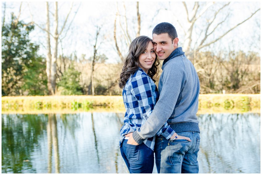 Engagement Session at a Lake