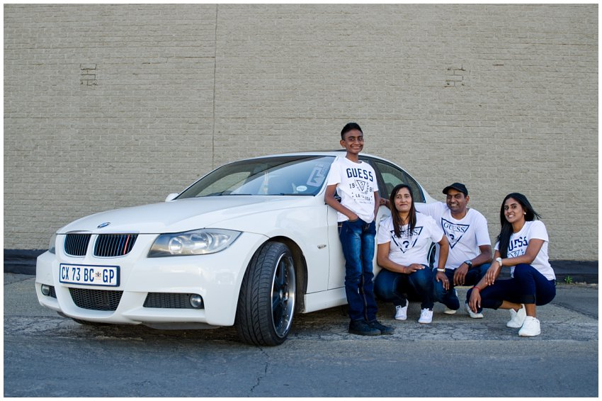 Car Photoshoot and family photoshoot in Bramley