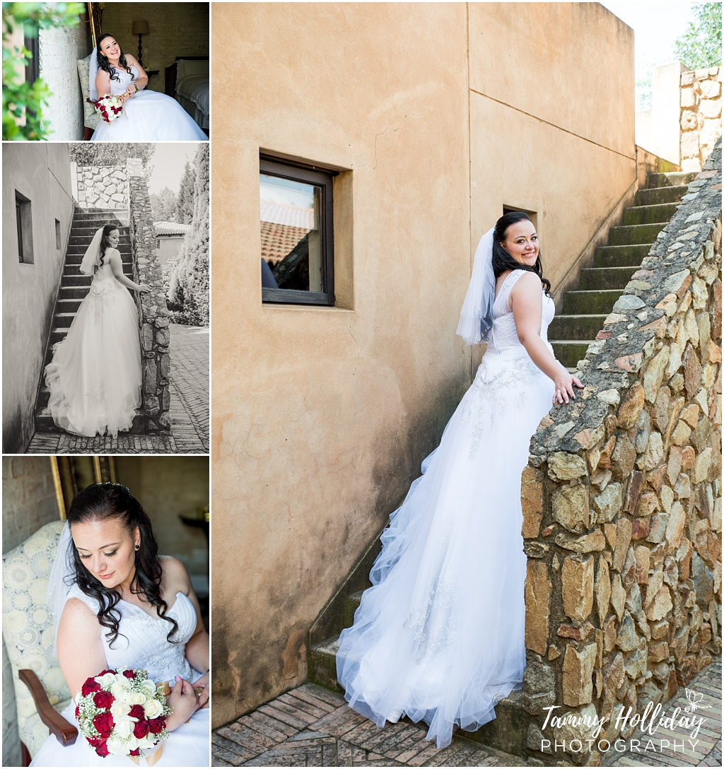 posing bride on location avianto muldersdrift