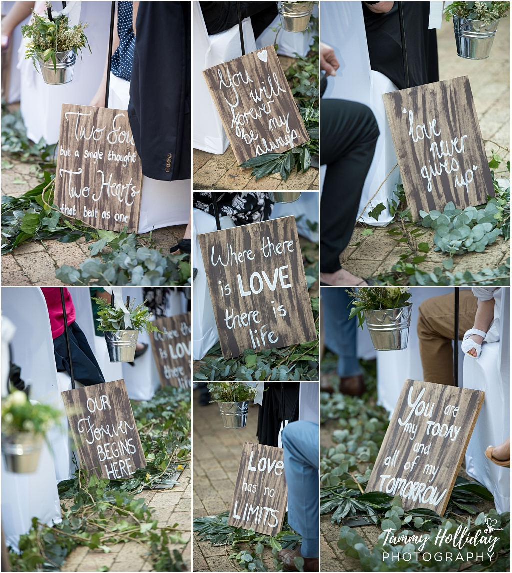wedding sign vintage idea
