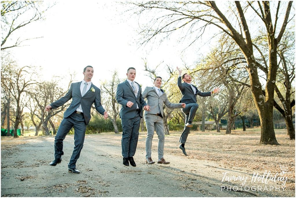 groom and groomsmen crazy photo