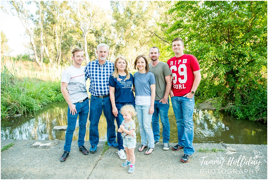 family photoshoot in modderfontein nature reserve