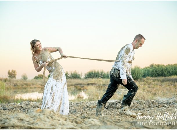 Wreck or trash the wedding dress, or matric dance dress with a couple and family photographer in johannesburg, midrand
