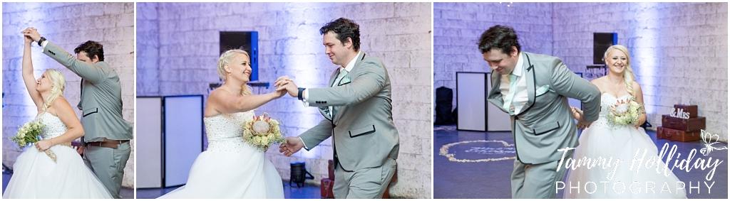 bride groom first dance midlands wedding
