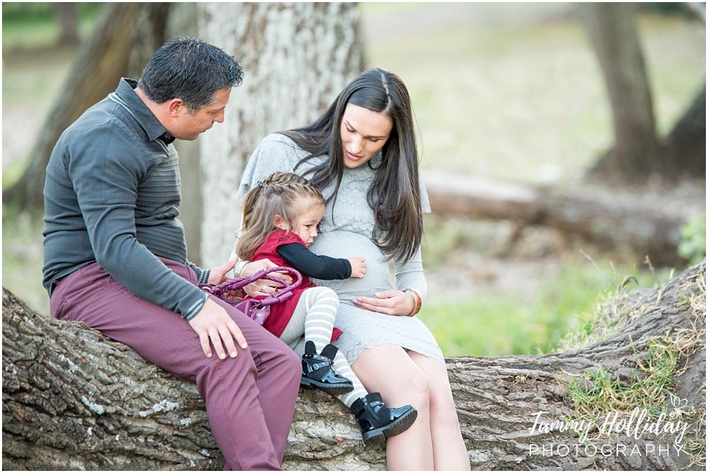 delta park maternity shoot