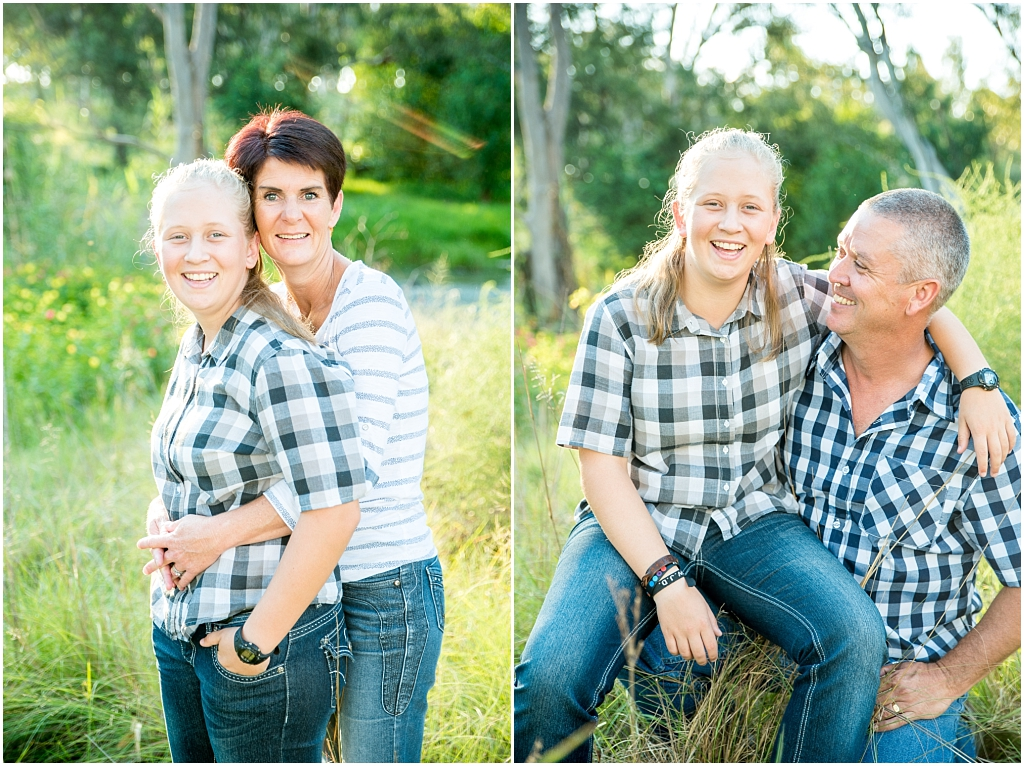 parents and daughter in long green grass modderfontein nature reserve family photshoot family photographer